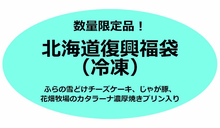 数量限定北海道復興福袋